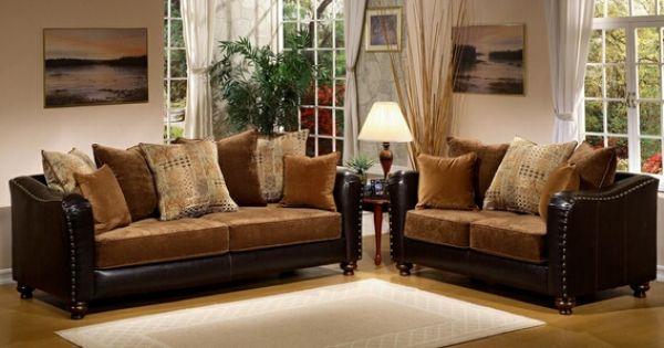 Living room furniture sofas and sets sofa sets 2 pc jordan