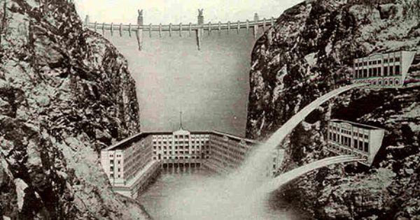Modernity And The Hoover Dam Hoover Dam Dam Natural Landmarks