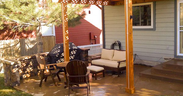 Outdoor living ideas on a budget myfoodforu pinterest for Outdoor living ideas on a budget