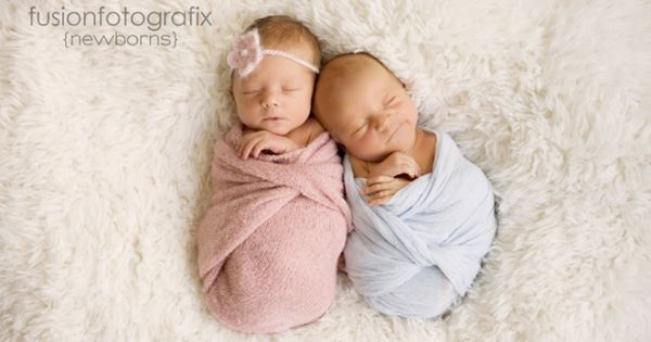 newborn boy girl twin photo shoot - Google Search