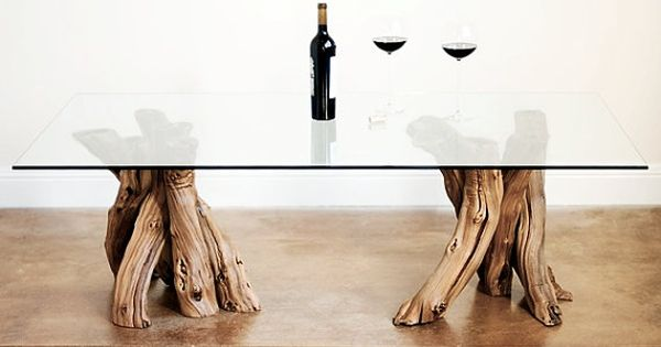 Vinya Roussanne Old Vine Grapevine Coffee Table 100 Recycled Coffee Napa Style And