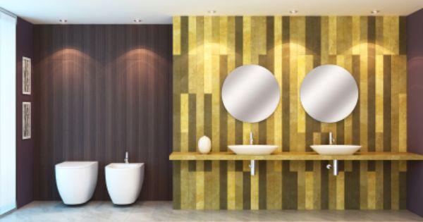 Great Badgestaltung Mit Tapeten | Blog: Www.badezimmer Luxus.com | Pinterest |  Blog Amazing Ideas