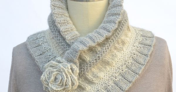 Ruched Cowl Knitting Pattern : Ombre Ruffled & Ruched Mom, Yarns and Patterns