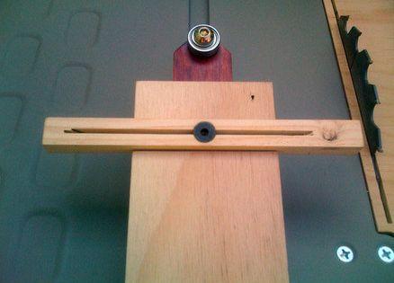thin strip table saw jig wood jigs pinterest table. Black Bedroom Furniture Sets. Home Design Ideas