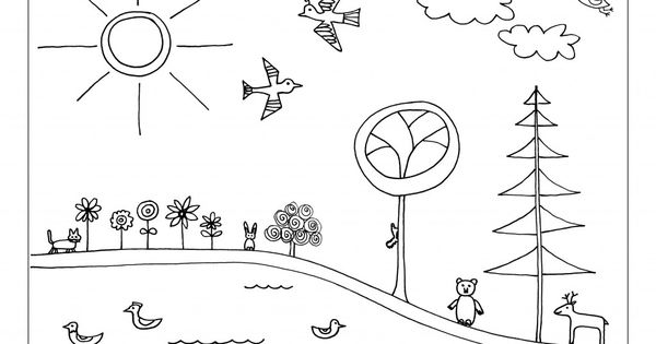 earth day coloring page preschool earth day recycling. Black Bedroom Furniture Sets. Home Design Ideas