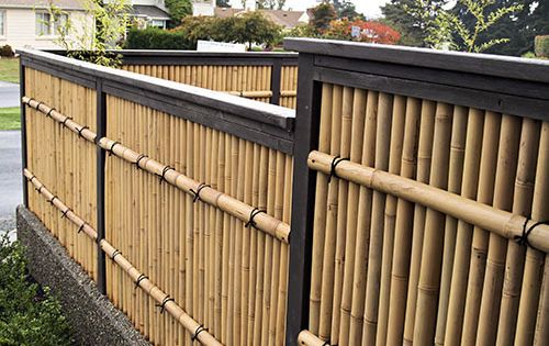 Zen Japanese Wood & Bamboo Garden Gallery Wooden Gates