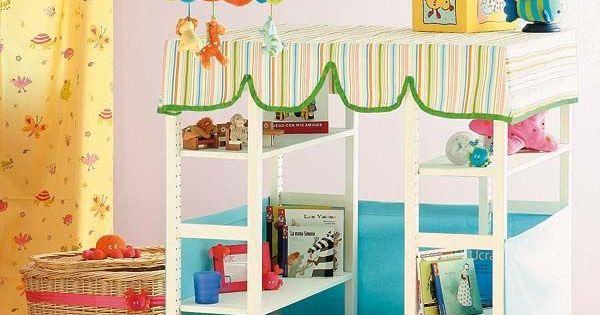 Reciclar muebles 6 ikea hacks para ni os shelves ideas - Reciclar muebles ikea ...