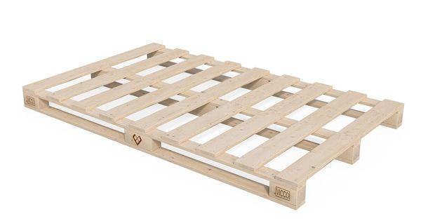 Vitalispa Palettenbett 140x200 Bett Massivholzbett Futonbett Holzbett Palettenmobel Moroccan Style Furniture Design Design