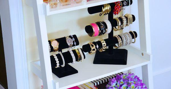 Ikea Lerberg Shelf To Organize Jewelry Perfumes Bedroom Knick Knacks Organization