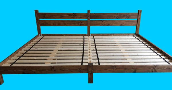 Visit Us A Www Peacelovewood Com For More Options This Extra Large Family Sized Bed Is Perfect For Any Family As Headboards For Beds Platform Bed Family Bed