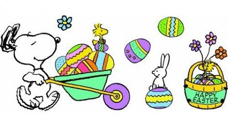 Snoopy easter beagle on pinterest snoopy beagles and - Free snoopy images ...
