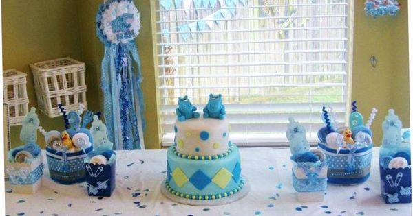 Baby Boy Shower Ideas And Decorations | Baby Shower ...