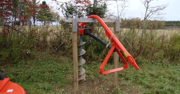 Posthole Digger PTO-driven post hole auger suggestions ...