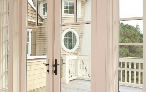 exterior french door replacement for back sliding door with bronze