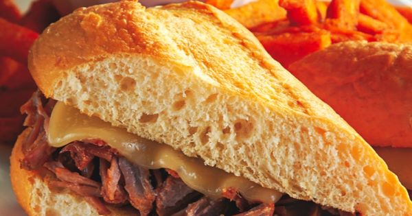 French Dip Sandwiches in Crock Pot Super yummy to our tummies! We