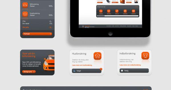 Alka - Interactive design by Sebastian Gram, via Behance - mobile design