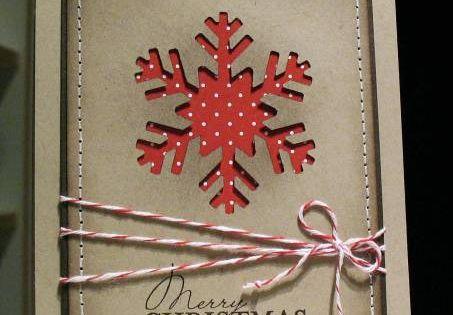 Snowflake card ideas
