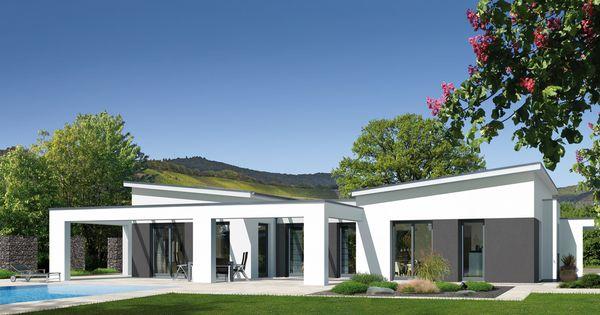 bungalow b effizienzhaus von fingerhut haus dieses fertighaus kombiniert die. Black Bedroom Furniture Sets. Home Design Ideas