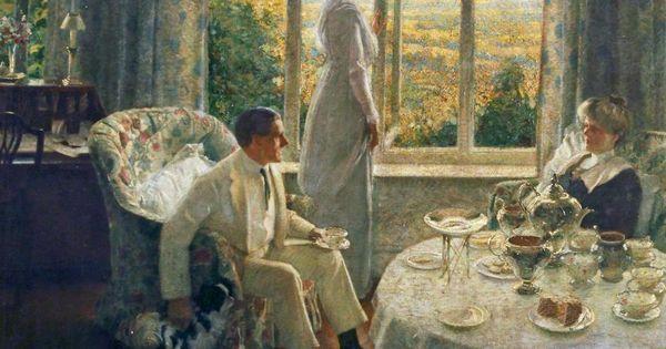 Atonement Tea Room Scene