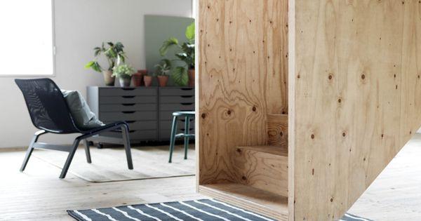 Underlayment Slaapkamer : Ikea, Legno grezzo and Scala on Pinterest