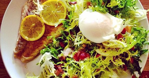 Poached eggs, Bacon and Salads on Pinterest