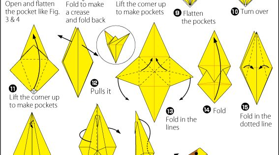 Origami Giraffe 2 | Easy Origami instructions For Kids ... - photo#10