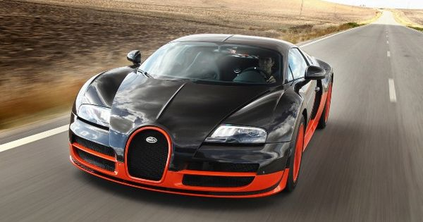 Bugatti Veyron Super Sport, fastest car in the world.