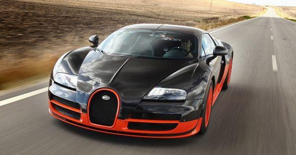 Bugatti Veyron Super Sport, fastest car in the world.