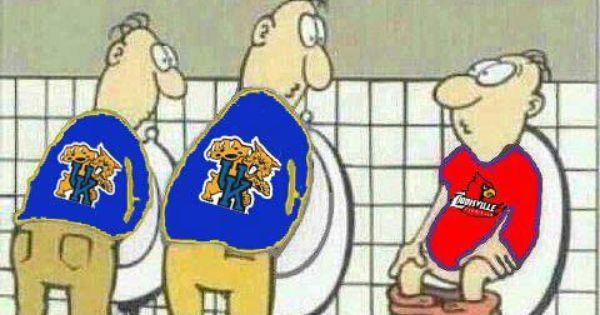 Kentucky Vs Louisville Snort Go Big Blue Go Big Blue