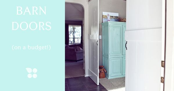 DIY Barn Doors styleberry blog