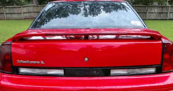 Oldsmobile Cutlass Supreme Sl Spoiler Light With Images