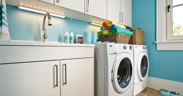 HGTV Dream Home 2013 Laundry Room - love the wall color