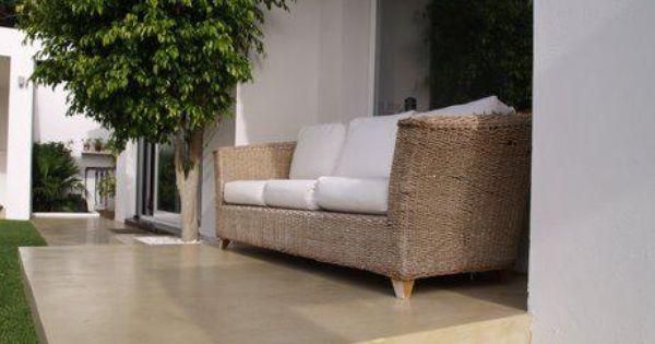 Microcemento color arena decoracion pinterest - Microcemento para exterior ...