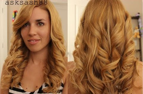 mid hair styles how to get curls with a flat iron easy and lasting 6593