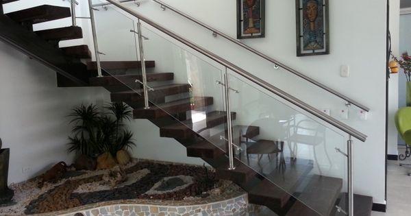 Pasamanos en acero antioquia ventanas en aluminio for Decoracion de interiores medellin