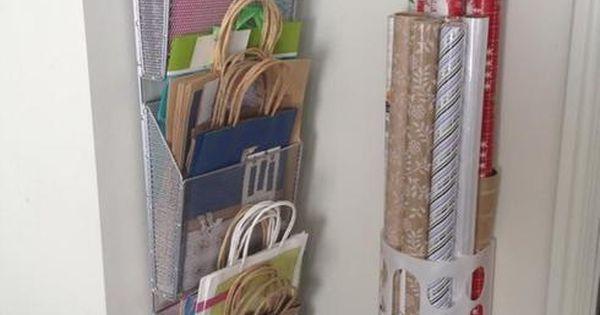 solutions d 39 organisation et de rangement pour les f tes papier de no l rangement et sac. Black Bedroom Furniture Sets. Home Design Ideas