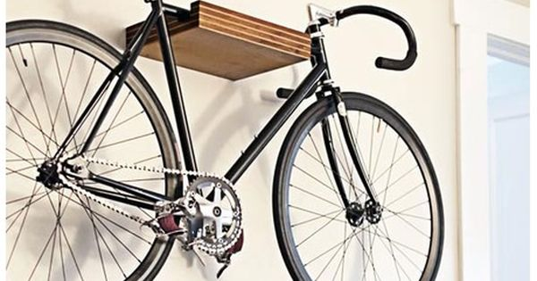 Another Clever Bike Shelf Idea