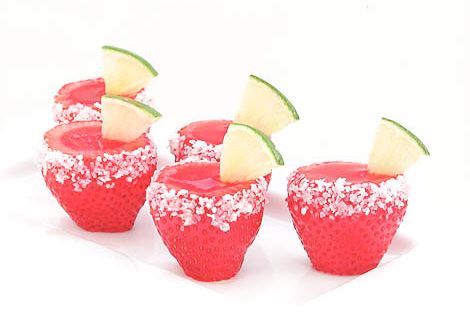 Strawberry Margarita Jello Shots! party