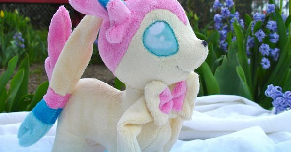 Instant Download Pokemon Sylveon Plushie Pattern by dolphinwing, $14.50