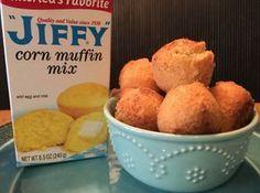 Easy Hushpuppies Recipe Moola Saving Mom Hush Puppies Recipe Food Corn Bread Recipe