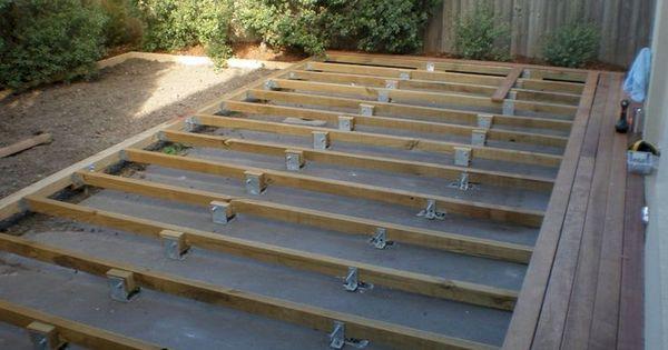 60 Elegant Wooden Deck Design Ideas Wooden decks, Deck design and - construction terrasse en bois sur parpaing
