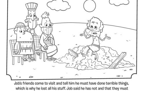 Job Bible Coloring Pages