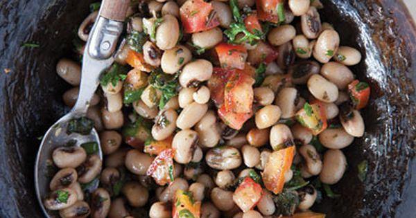 Saladu Ñebbe (Black-Eyed Pea Salad) | Pea Salad, Salads and Black ...
