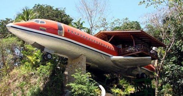 Airplane Hotel aviao hotel airplane costa rica costarica boeing 727