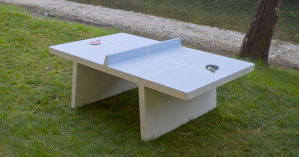 Table De Ping Pong D 39 Ext Rieur Amoplay Ping Pong Table