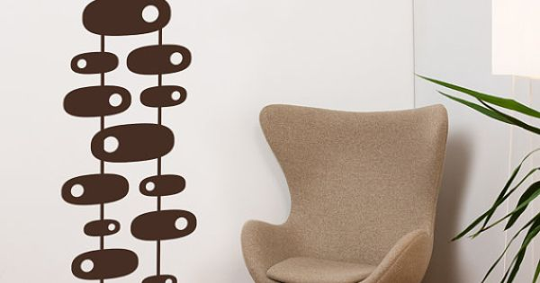 Modern 60s Wall Decal Brown by ADzif on Etsy 4800  : aad17a0b10a0865952f3863490ef492e from www.pinterest.com size 600 x 315 jpeg 22kB