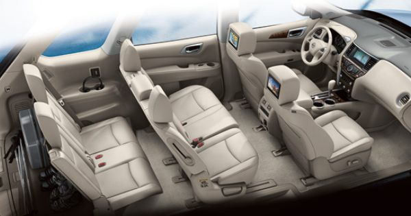 The Interior Of The All New Award Winning Nissan Pathfinder Available At Mossy Nissan In Nissan Pathfinder Nissan Pathfinder Platinum 2014 Nissan Pathfinder