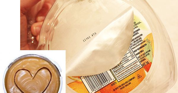 Peanut butter to remove label and sticker residue!
