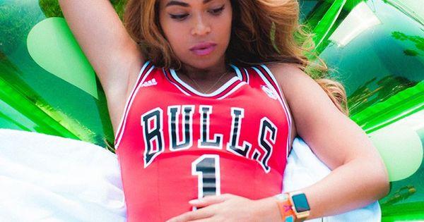 B in Bulls swimsuit | girls