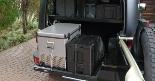 Front Runner Jeep Jk Cargo Slide Jeeping Pinterest
